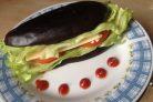 Сэндвич из баклажана