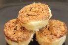 Двухслойное печенье с орехами