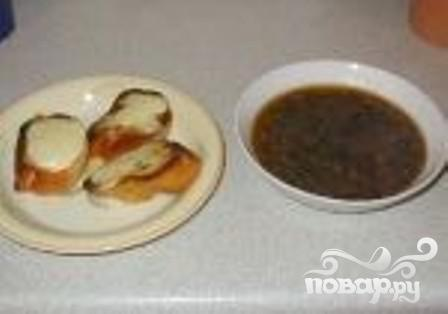 Рецепт Рецепт французского лукового супа