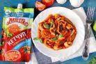 Кальмары тушеные с овощами в томатном соусе из кетчупа