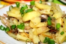 Сморчки, жареные с картошкой