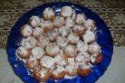 Пончики творожные шарики