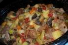 Говядина с грибами в духовке