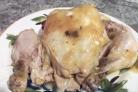 Цыпленок с грибами и сыром Моцарелла