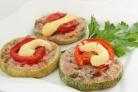 Бутерброды из кабачков в духовке