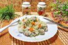 Рис с капустой и мясом
