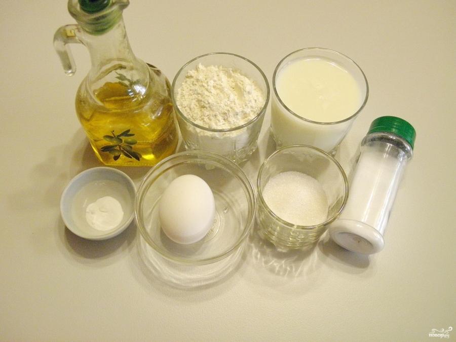 Панкейки на кислом молоке
