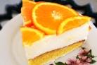 Торт с апельсинами и йогуртом