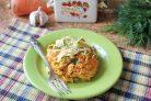 Салат с морковью и кириешками
