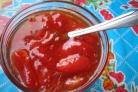 Необычное варенье из помидор