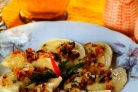 Вареники с салом и картошкой