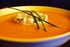 Суп-пюре со сладким перцем