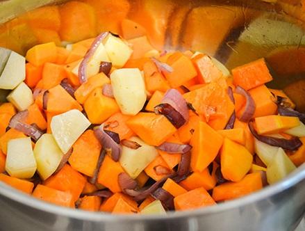 Суп-пюре из тыквы для детей