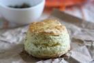Печенье с йогуртом и укропом