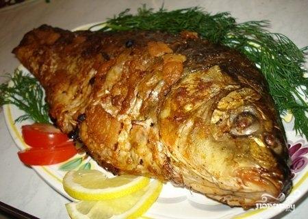 рыба толстолобик рецепты приготовления в духовке