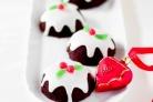 Новогодние шоколадные капкейки