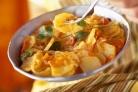 Картофель тушеный с овощами