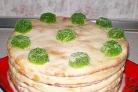 Торт творожный Наполеон