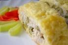 Рулет из сыра с курицей
