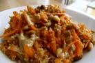 Салат из чечевицы с морковью