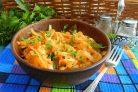 Лаханоризо из капусты и риса