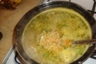 Рыбный суп с чечевицей