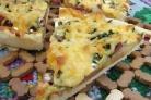 Деревенская пицца с картошкой