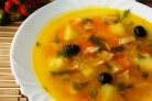 Гороховый суп с ветчиной