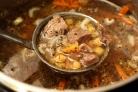 Суп из баранины с нутом