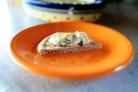 Сырный соус с артишоками и шпинатом