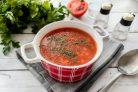 Болгарский суп из чечевицы