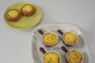 Жульен с языком и грибами в сметанном соусе
