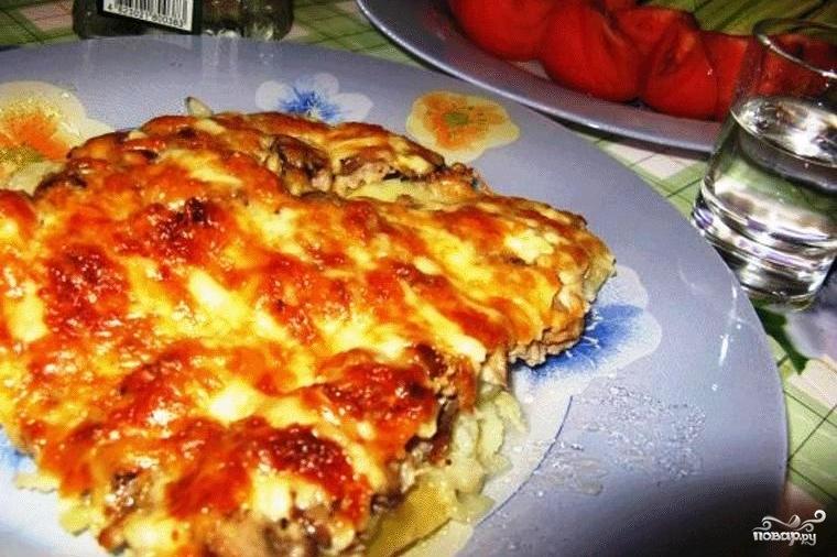 Рецепт блюда мясо по французски