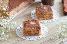 Торт из галетного печенья без выпечки