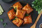 Конвертики с мясом и картошкой