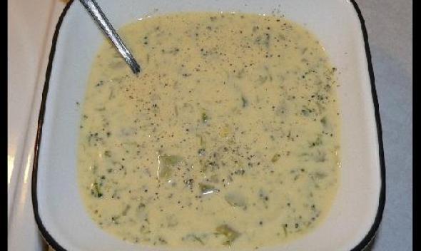 Рецепт Суп Брокколи с сыром
