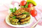 Куриные «растрепки» с овощами, шпинатом и брынзой