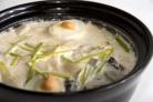 Суп из соленых опят