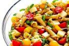 Макаронный салат Капрезе
