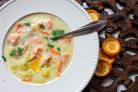 Финский суп из лосося