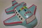 Торт в виде самолета