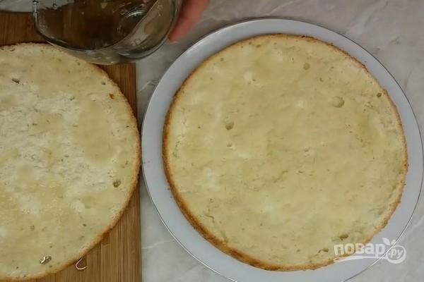 """Бисквитный торт """"Подарочный"""""""