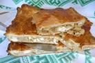 Капустный пирог с яйцом