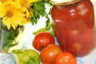 Помидоры в томатной пасте на зиму
