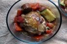 Рагу из кабачков с курицей