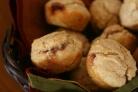 Маффины с джемом и арахисовым маслом