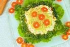 Салат Мимоза с лососем