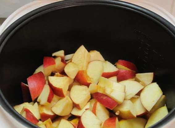 Желе из яблок в мультиварке
