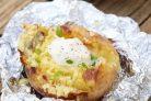Рецепт запеченной картошки в фольге