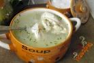 Капустный суп с курицей
